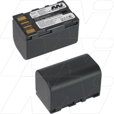 JVC BN-VF808 BN-VF815 BN-VF823 REPLACEMENT BATTERY