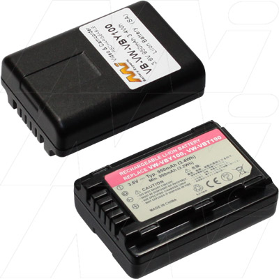 PANASONIC CAMCORDER BATTERY HC-V110 VW-VBY100 GENERIC BATTERY