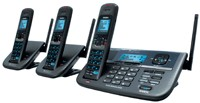 UNIDEN XDECT R055+2 CORDLESS PHONE 1.8GHZ 2 LINE DIGITAL
