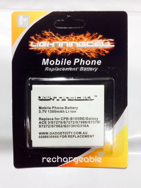 SAMSUNG GALAXY ACE 3 CPB-B105BE REPLACEMENT BATTERY