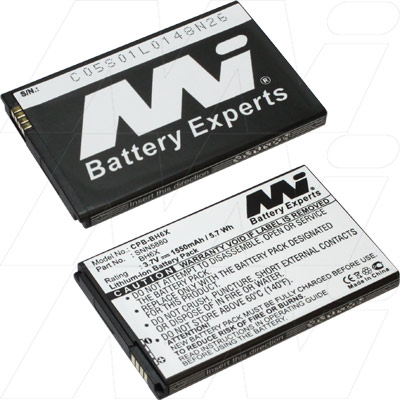 Motorola bh6x bh-6x mobile phone replacement battery