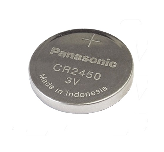 1 x CR2450 DL2450 PANASONIC ORIGINAL Lithium Battery coin cell
