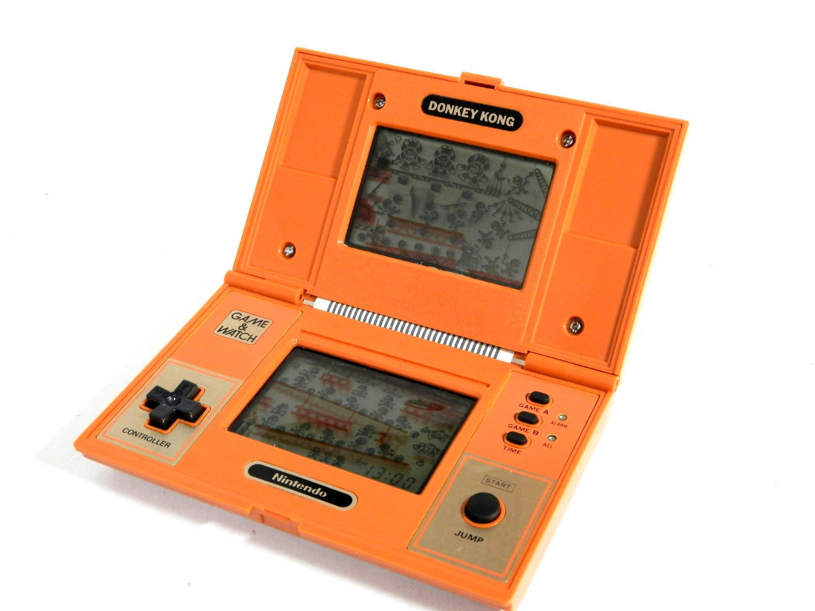 DONKEY KONG NINTENDO GAME WATCH HANDHELD CONSOLE DUAL SCREEN