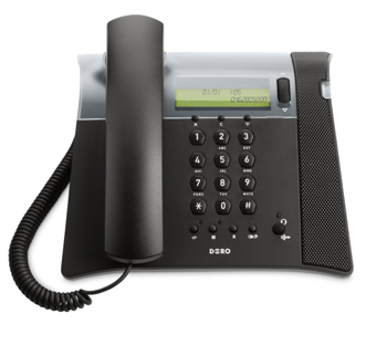 DORO CONGRESS 305 CORDED PHONE SPEAKERPHONE CALLER ID