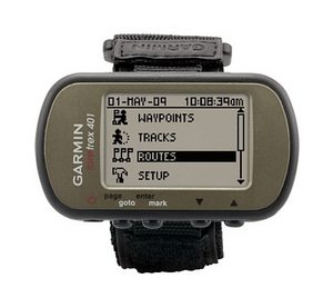 GARMIN FORETREX 401 WATERPROOF HIKING WRIST MOUNT GPS+STRAP