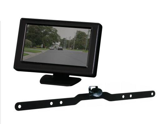 GATOR G427 REVERSING CAMERA SYSTEM WIRED 4.3