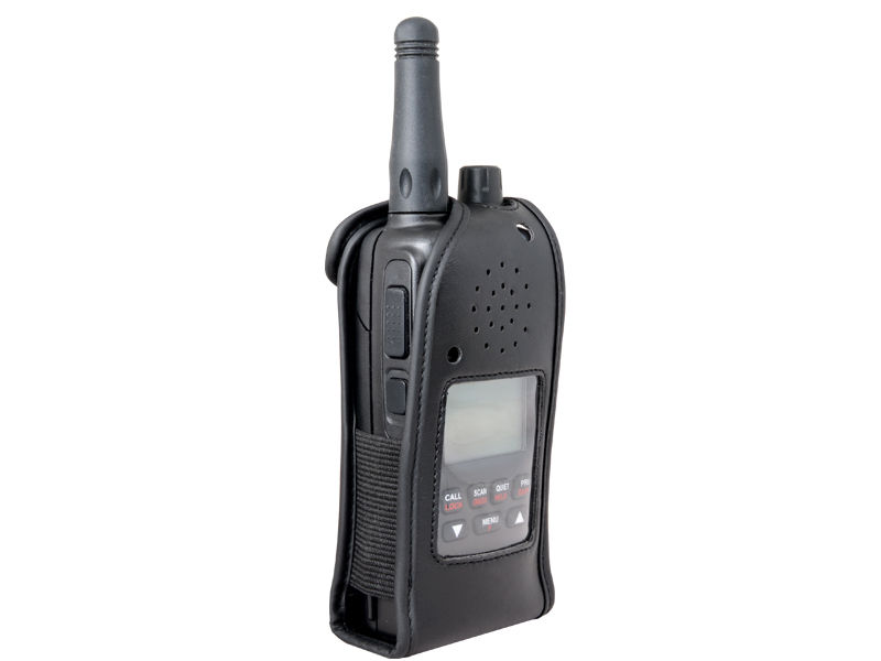 GME LEATHER CASE LC006 SUITS TX6500 s UHF HANDHELD RADIOS