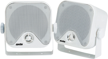 AXIS MA442 MARINE SURFACE MOUNT SPEAKERS FOR BOATS AND OUTDOORS