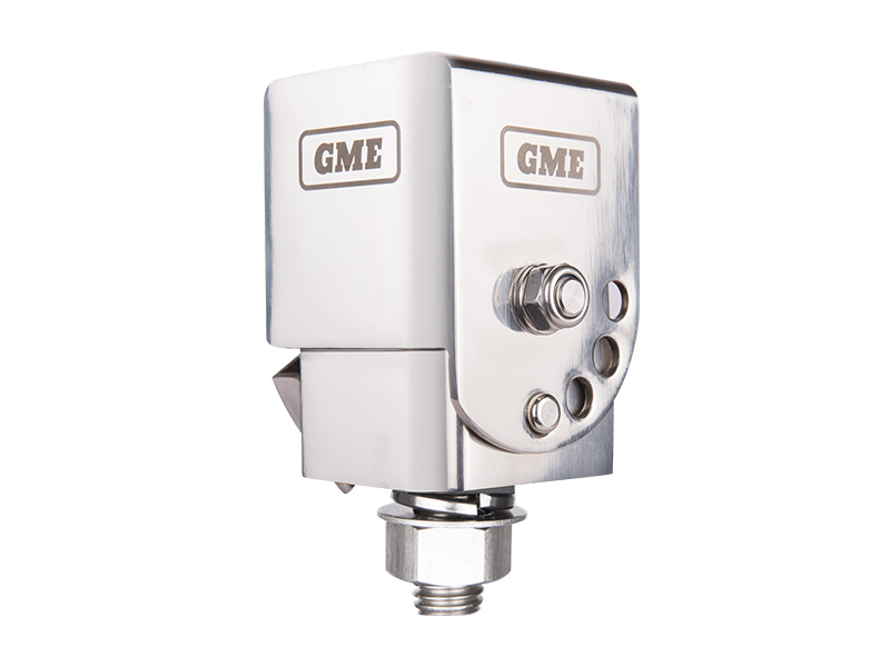 GME MB042 FOLD-DOWN SILVER ANTENNA MOUNTING BRACKET