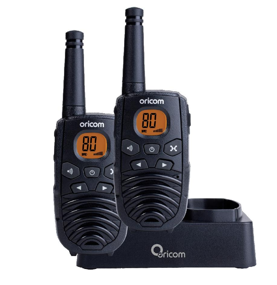 ORICOM PMR1290 80CH 1W UHF RADIOS 80 CHANNELS FREE POST