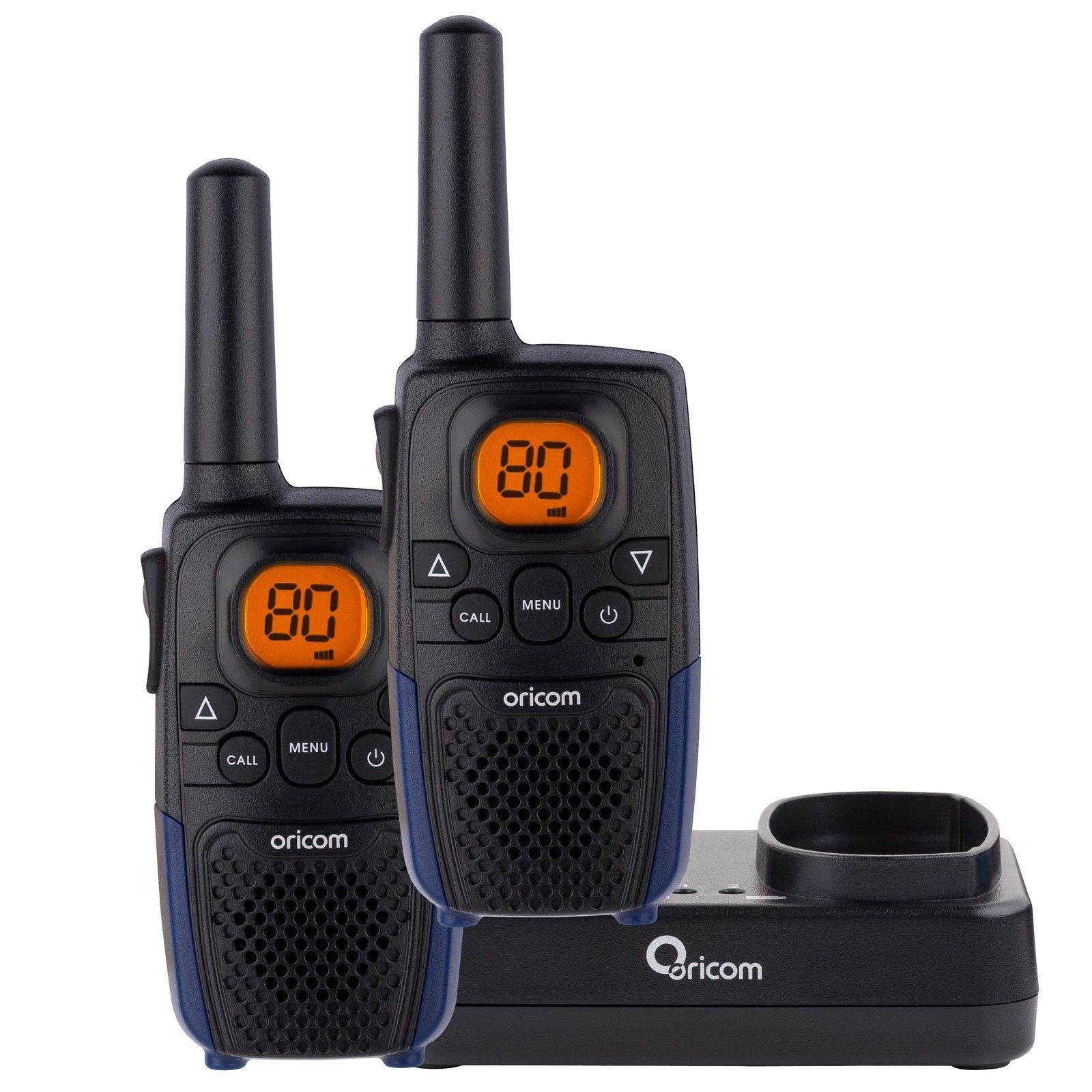 ORICOM PMR790 HANDHELD UHF RADIO TWIN PACK 80 CHANNELS