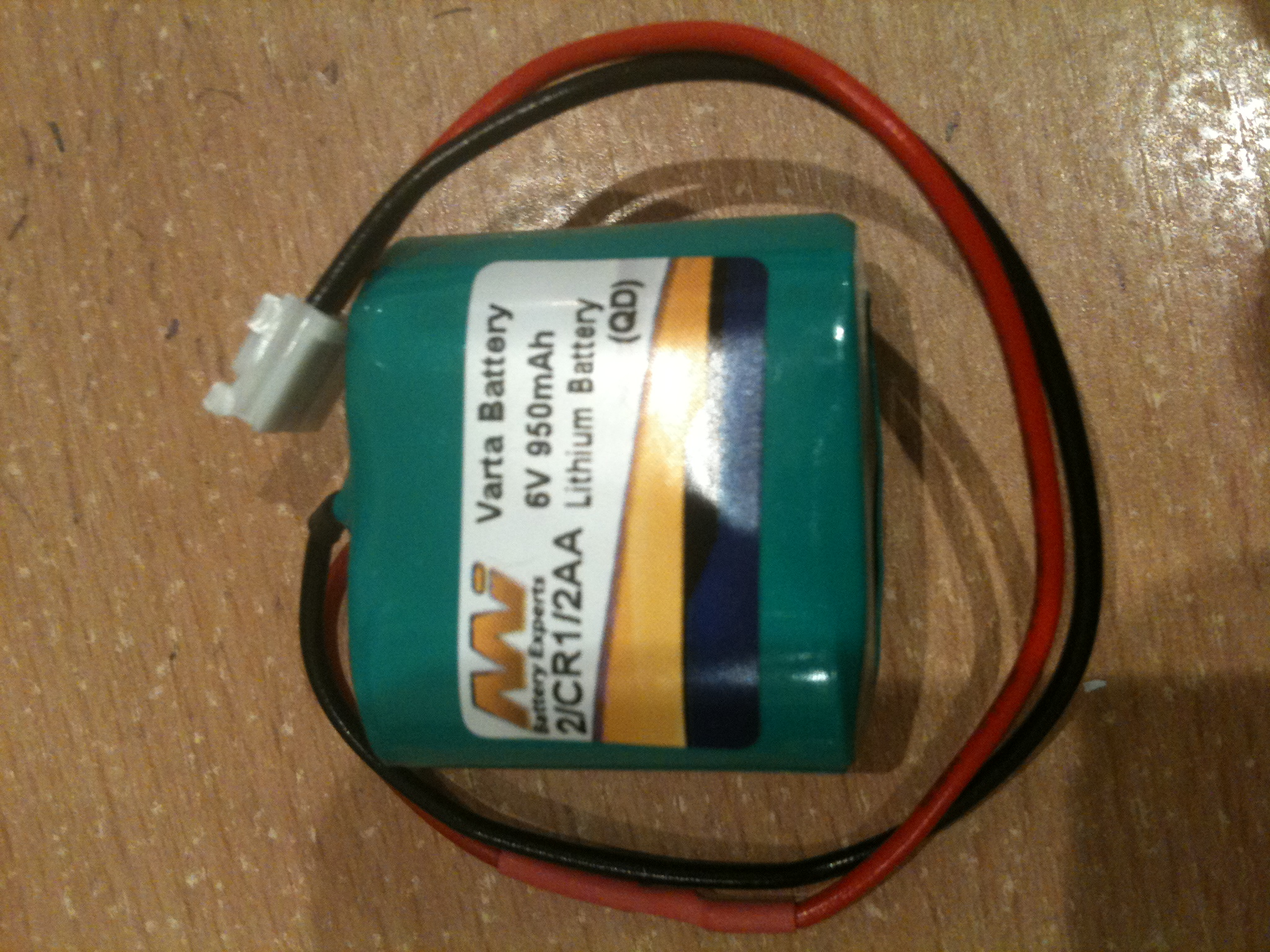 VARTA 2/CR1/2AA LITHIUM REPL REFEREE FLAG BATTERY