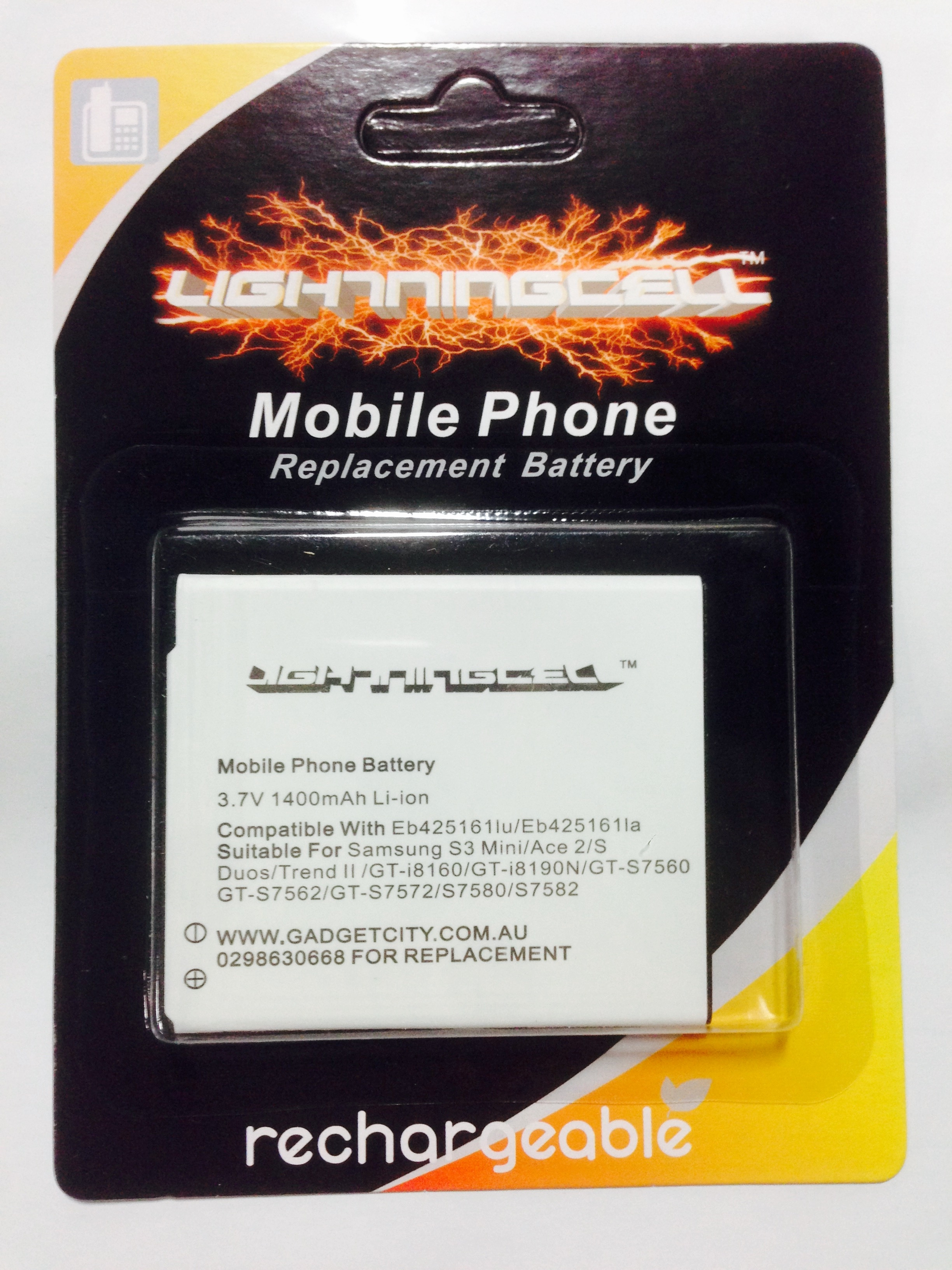 BATTERY SAMSUNG EB425161LU MOBILE PHONE REPLACEMENT BATTERY