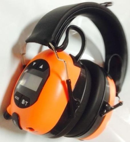 BULLANT ABA840 AM/FM BLUETOOTH HEADPHONES EAR MUFFS RADIO