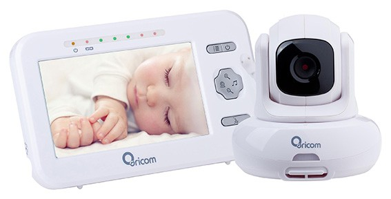 ORICOM SECURE 850 SC850 DIGITAL VIDEO BABY MONITOR PAN-TILT