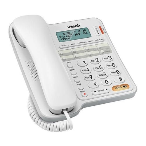 Vtech T1300 corded telephone phone and handsfree speaker phone