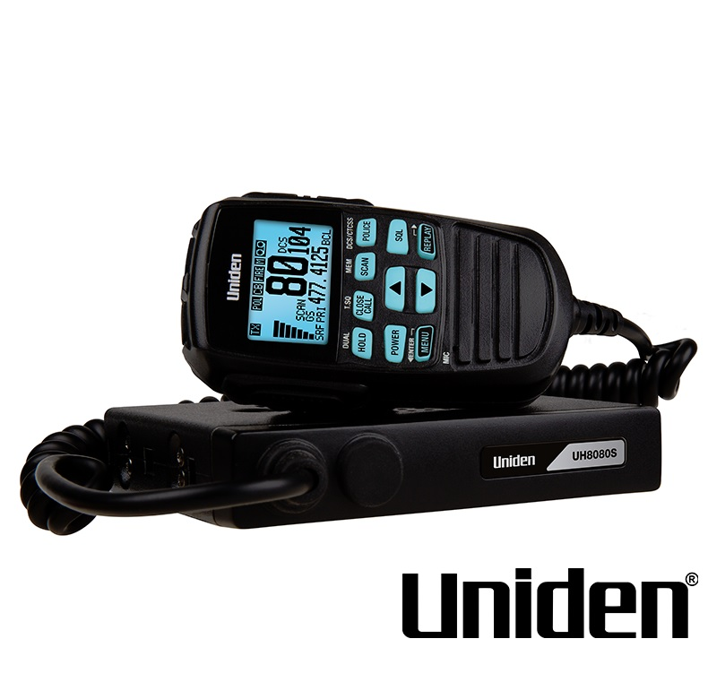 UNIDEN UH8080S 80 CHANNEL UHF+SCANNER IN 1 RADIO