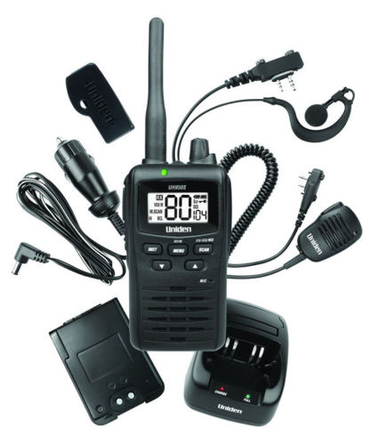 UNIDEN UH950S 5 WATT UHF 80 CHANNEL HANDHELD CB RADIO RUGGED