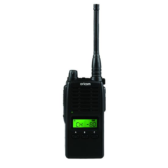 ORICOM UHF5500-1 5 WATT SINGLE PACK 80 CH HANDHELD UHF CB RADIO
