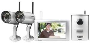 UNIDEN UWG900 HOME WIRELESS VIDEO INTERCOM SURVEILLANCE SYSTEM