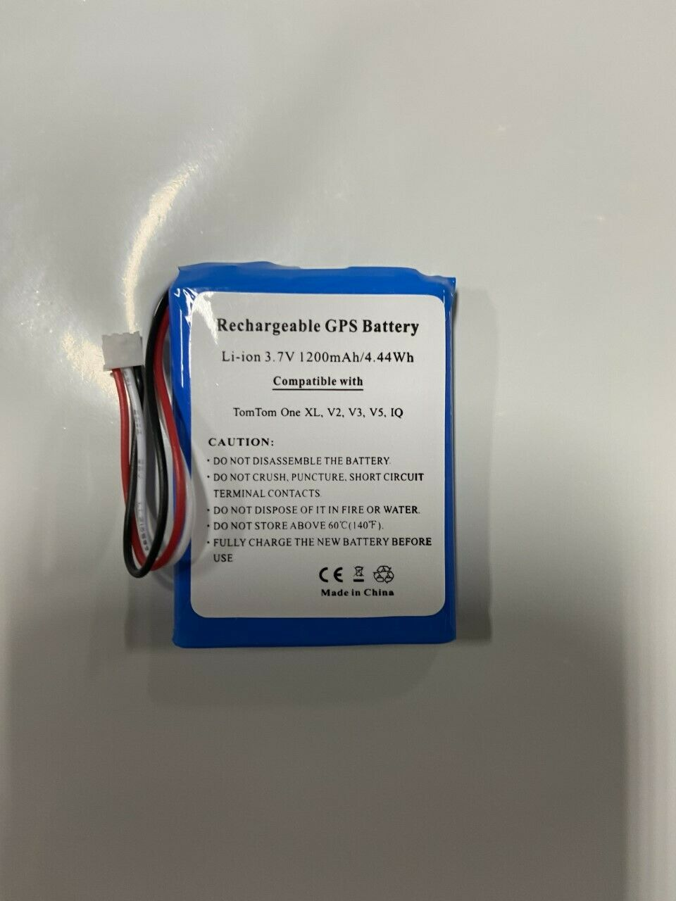 TOMTOM ONE XL SERIES REPLACMENT BATTERY